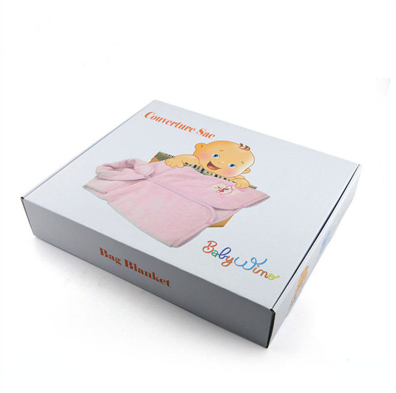 Garment Custom Clothing Boxes Cardboard Paper Recycled Materials