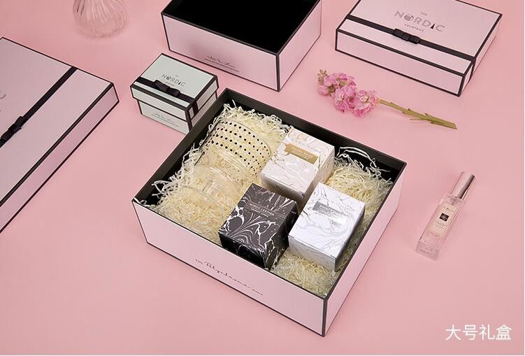Recyclable Concise Paperboard Cosmetic Packaging Box