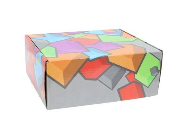 Custom Size Corrugated Gift Box  Colorful Kraft Paper Corrugated Box double wall corrugated box